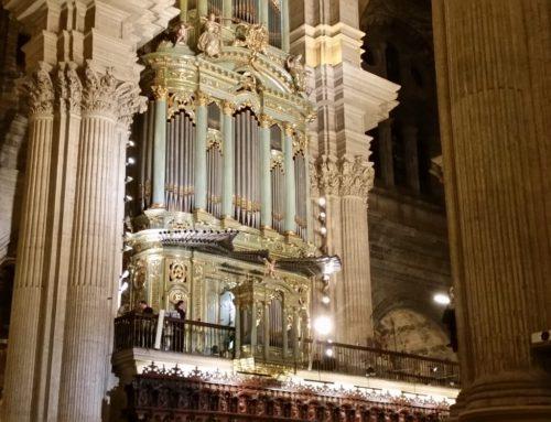 Txistua Malagako katedralean