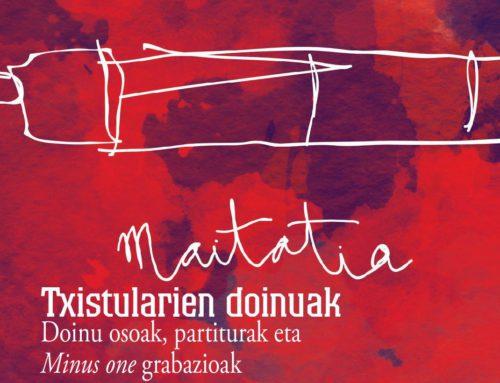 [VÍDEO] Tambourino del disco-libro Maitatia