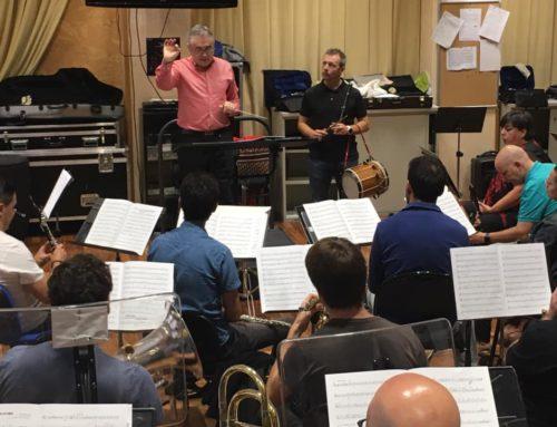 Garikoitz Mendizabal estrena hoy dos obras para txistu y banda de música