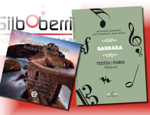 Un libro de partituras y un nuevo disco, novedades de Silboberri para la Azoka de Durango