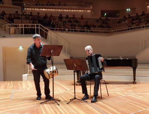 [VÍDEO] Aitor Amilibia y José Antonio Hontoria en la Filarmónica de Berlín