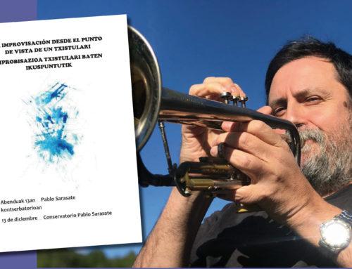 La improvisación como recurso para txistularis en una master class del Conservatorio Pablo Sarasate